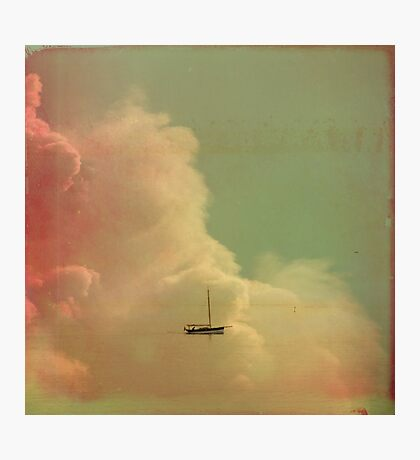 Once Upon a Time a Little Boat Photographic Print