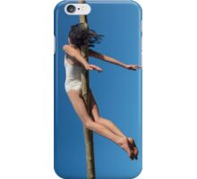 Floating in the Blue iPhone Case/Skin