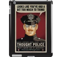 Thought Police iPad Case/Skin