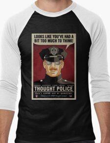 Thought Police Men's Baseball ¾ T-Shirt