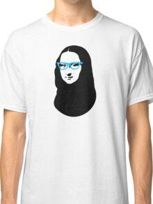 Mona Lisa Hipster Classic T-Shirt