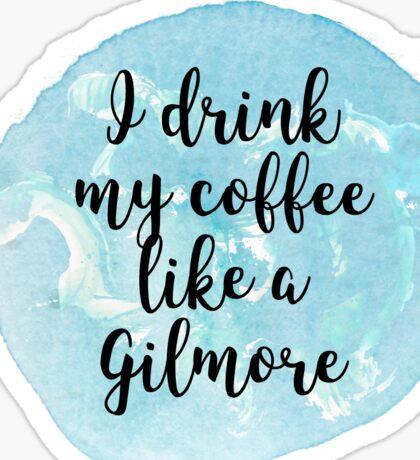gilmore girls coffee Sticker