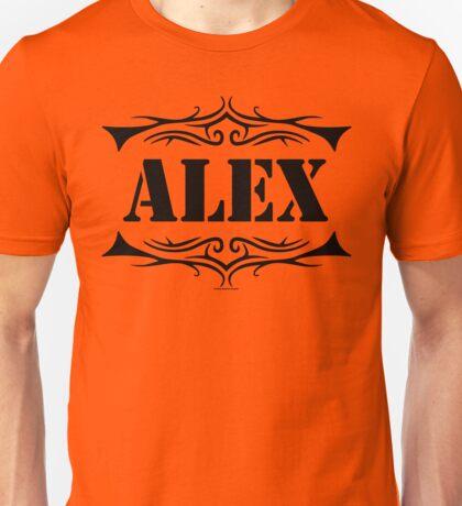 Orange Alex Unisex T-Shirt