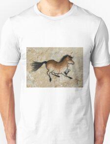 Cave Art Horse - Cheval No.3 Unisex T-Shirt