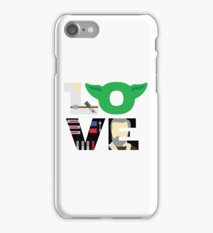 Star Wars Love Typography iPhone Case/Skin
