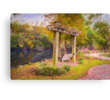 Conway River Walk Canvas Print
