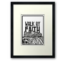 Walk by Faith Zenart Framed Print