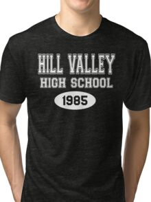 Hill Valley High School 1985 - Back To The Future Tri-blend T-Shirt