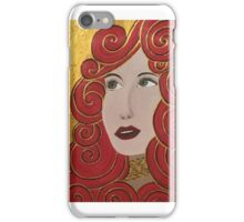 Florence gold iPhone Case/Skin