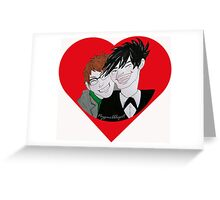 Nygmobblepot Greeting Card