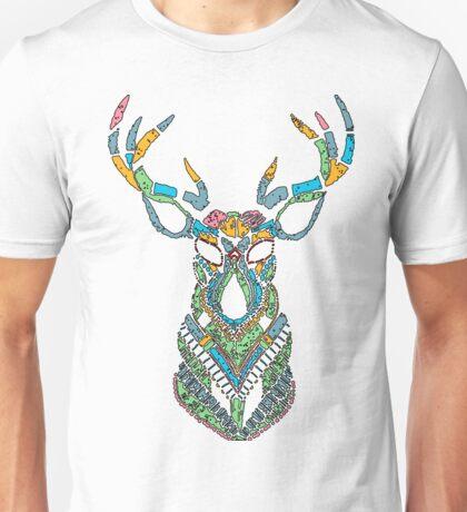 Fantasy Deer Head Unisex T-Shirt