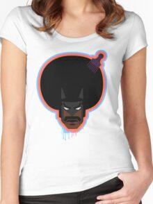 Blacker Than Batman Women's Fitted Scoop T-Shirt