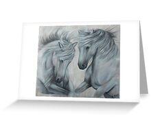 Pferde Greeting Card