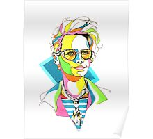 dr holtzmann - ghostbusters Poster