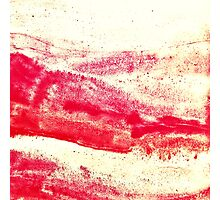 Ode to Red Photographic Print