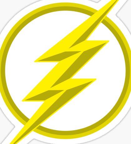 The Lighning Flash Speedster Sign Sticker