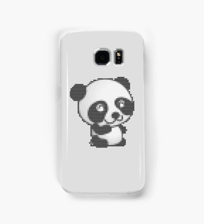 knitted sweater panda Samsung Galaxy Case/Skin