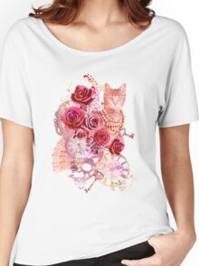 Vintage Cat Women's Relaxed Fit T-Shirt