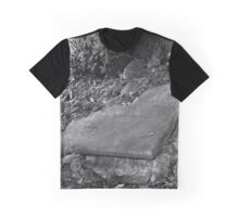 broken old grave on the green Graphic T-Shirt