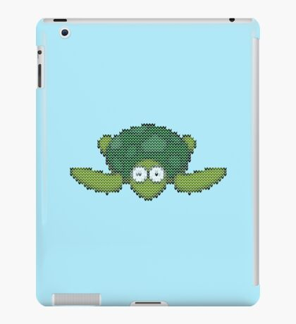 knit turtle iPad Case/Skin
