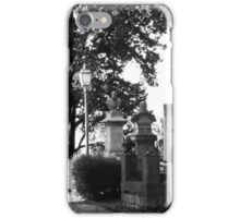 memorial street iPhone Case/Skin