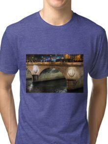 Light On Pont Notre-Dame ©  Tri-blend T-Shirt