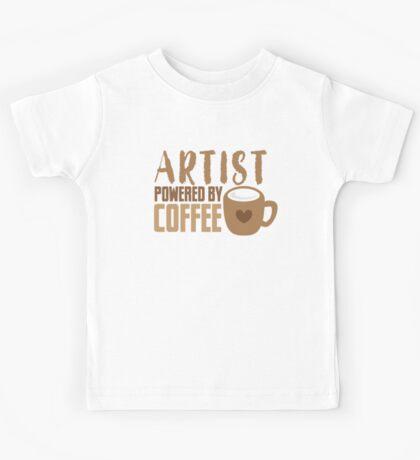 ARTIST powered by coffee Kids Tee