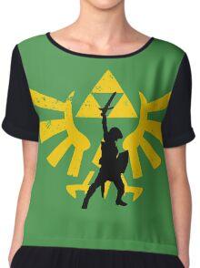 The power of three (Legend of Zelda) Chiffon Top