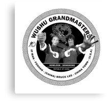 Bruce Lee & Ip Man Collaboration Canvas Print