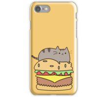 burguer cat iPhone Case/Skin