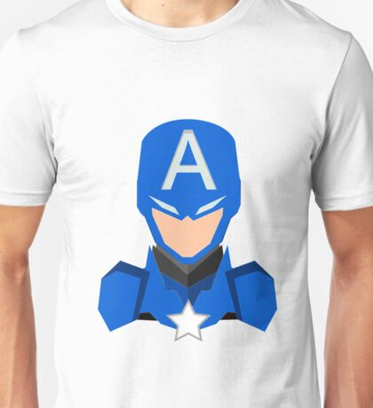 Capitan America Unisex T-Shirt