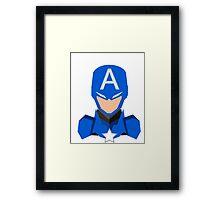 Capitan America Framed Print