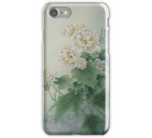 Chinese Flower With Butterfly iPhone Case/Skin
