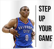 Russell Westbrook OKC (suyg) Poster