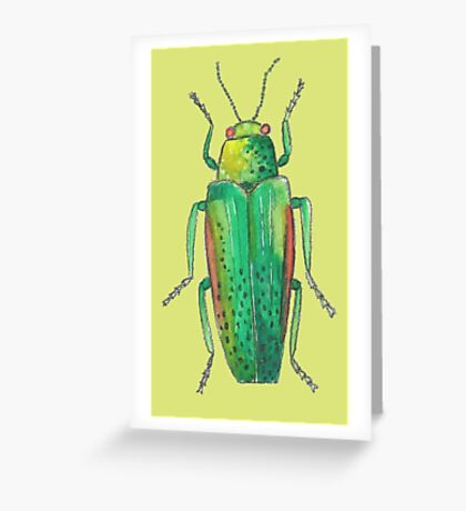 Insect drawing Greeting Card