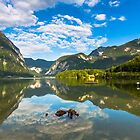 Dramatic Morning at lake by jasonksleung
