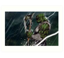 Standing with the Storm Art Print