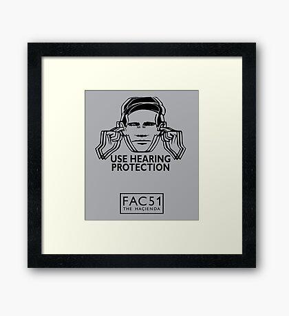 FAC 51 the Haçienda Framed Print