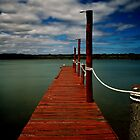 The Red Jetty... by Angelika  Vogel