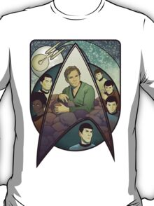 Star Trek Art Nouveau T-Shirt