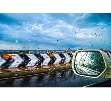 Indian Monsoon Rear view Photographic Print