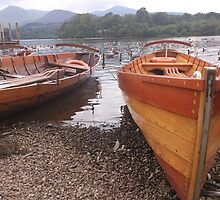 Row Boats by Lynn Wright