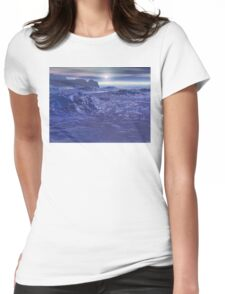 Frozen Sea of Neptune Womens Fitted T-Shirt