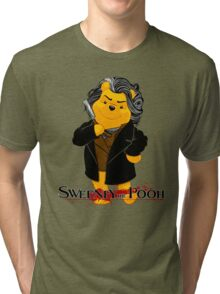 Sweeney the Pooh. Tri-blend T-Shirt