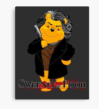 Sweeney the Pooh. Canvas Print