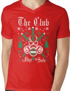 The Club No One Is Safe for Christmas Mens V-Neck T-Shirt