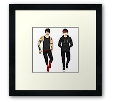 Punk!RoyalChaos Framed Print