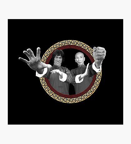 Bruce Lee & Ip Man - Grandmaster Duo Photographic Print