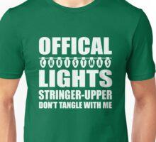 Official Christmas lights stringer upper Unisex T-Shirt