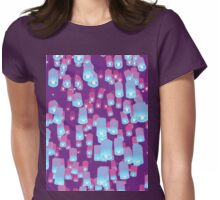 Make a Wish LILAC Womens Fitted T-Shirt